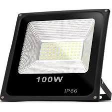 Refletor Holofote Microled 100w Branco Frio.