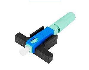 Conector de Fibra Óptica UPC Rosca.