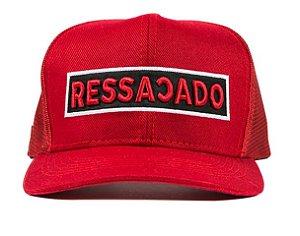 Boné RESSACADO- All Red