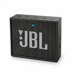 SPEAKER PORTÁTIL JBL GO BLUETOOTH PRETO