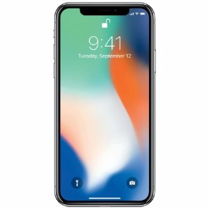 CELULAR APPLE IPHONE X  64GB PRATA ( SILVER ) A1901