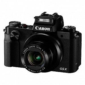 CÂMERA CANON G5X 20MP/4.2X/WIFI/FHD