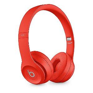 Fones de ouvido Beats Solo3 Wireless – (PRODUCT)RED Vermelho cítrico