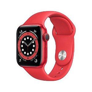 Apple Watch Serie 6 44mm Red Fecho Classico