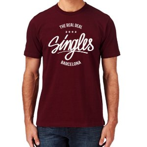 CAMISETA SINGLES THE REAL DEAL BCN