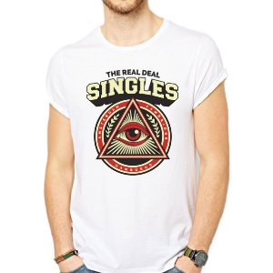 CAMISETA SINGLES THE REAL DEAL 3 VISAO