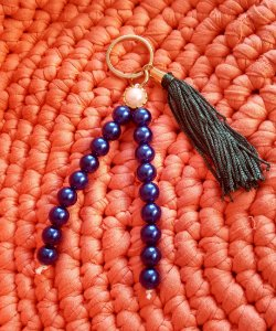 Chaveiro Azul