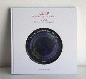 """Livro de Arte """"Click - A arte da inclusão"""" de Jacob Klintowitz"""