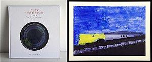 """Combo - Obra """"Céu Azul"""" + Livro de Arte """"Click"""" + Calendário IOK"""