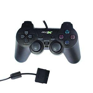 Controle para Video Game playstation2 Analógico com Fio