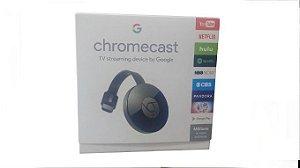 Cromecast Transforme sua TV em um porta-retrato e assista filmes.