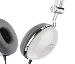 Fone de Ouvido Multilaser com Fio Vibe P2 Branco - PH054