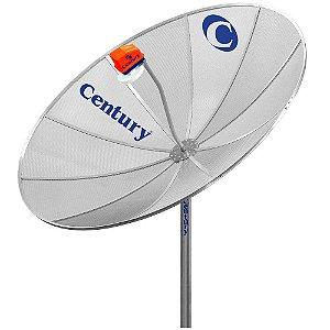 Antena Parabólica Century 1.70MT Telada Sem LNBF  Sem Receptor  MD170