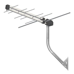 Antena Externa Proeletronic ProHD-3610 VHF/ UHF/ Tv digital kit antena digital + mastro + cabo