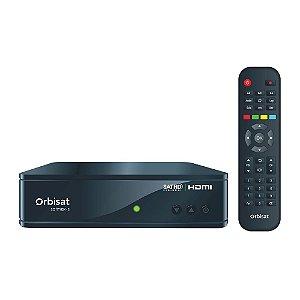 Receptor Satmax-s Orbisat Canais 3D/SD/HD+Globo Digital
