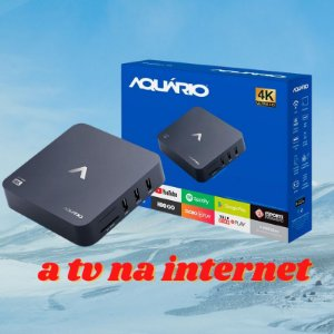 Smart Box Aquário STV-2000 tv box Á