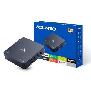 SmartBox Aquário STV-2000 tv box 4k Youtube Netflix tvbox