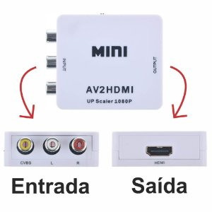 Conversor de RCA AV para HDMI
