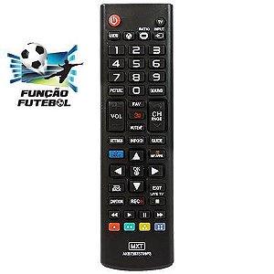 CONTROLE REMOTO MXT 01291 TV LG 3D_FUTEBOL AKB73975709PS
