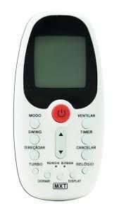 Controle Remoto Para AR Condicionado Midea - MXT-CO1308 -