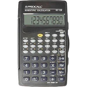 Calculadora Científica PROCALC SC128 56 Funções
