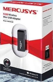Adaptador Wireless Mercisys USB MW300UM 300MBPS Mini