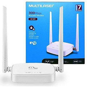 Roteador Wireless 300Mbps Multilaser re160v