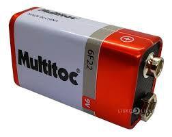 BATERIA 9V Multitoc