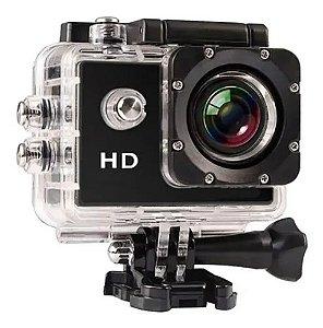 Câmera Filmadora HD Ação Capacete Esporte Mergulho Acessórios