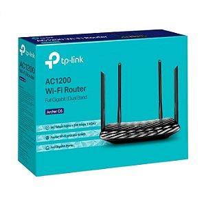 Roteador Wireless TP-Link Archer C6 AC1200 Giga 4 Antenas Dual
