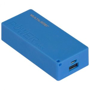 Carregador Portatil Power Bank 4000MAH Com Cabo Micro USB Incluso CB097