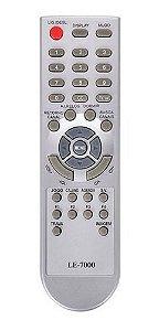 Controle TV Century LE-7000