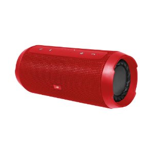 Caixa de Som C3Tech Speaker Bluetooth+EDR Função Power Bank, Handsfree, USB, FM, TF Card Vermelha - SP-B150GR
