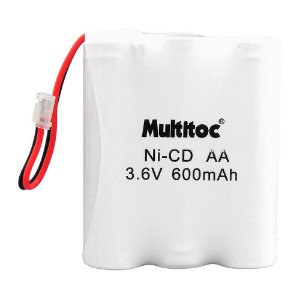 Bateria para Telefone se Fio Multitoc P50 3.6V 600MAH Plug Universal
