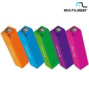 Carregador Portátil Universal para Celular Smartphone Power Bank 2200 mah
