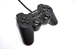 Controle com Fio Leboss Dualshock 2 para PS1 / PS2 - LB-2121/S