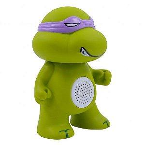 Caixa de som bluetooth - tartaruga ninja