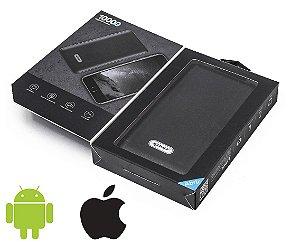 Carregador Portátil Celular 10000mah Bateria Externa Kp-pb01