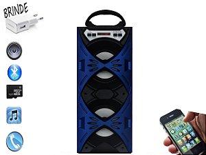 DUPLICADO - Radio Portatil Bluetooth/usb Azul