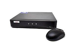 Dvr Stand Alone Ípega KP-CA230 04 canais 5MP 5 em 1 (AHD, IP, TVI, CVI e analógicas) com Leitor Facial