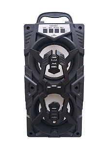CAIXA DE SOM GRASEP D-BH4205 BLUETOOTH - ENTRADA USB E MICRO SD - RÁDIO FM INTEGRADO - SOM HI-FI DE QUALIDADE - 10W RMS