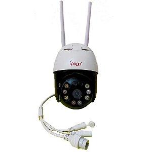 Mini Speed Dome Ip Wifi Ípega KP-CA176 3MP Alarme de Voz - Full Hd 1080p - Visão Noturna - Alcance 30 M