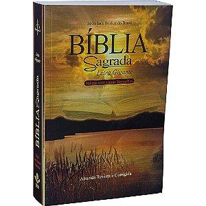 Bíblia Sagrada Letra Gigante - RC