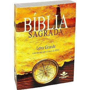 Bíblia Sagrada Letra Grande - RA - Brochura - Bússola