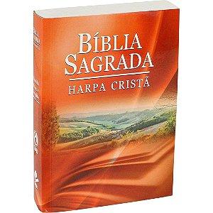 Bíblia Sagrada com Harpa Cristã - Brochura - Ilustrada