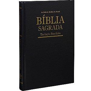Bíblia Sagrada Tradução Brasileira - Capa dura - Preta