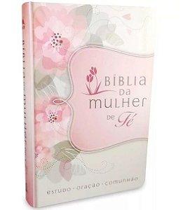 Bíblia NVI | Mulher de Fé Sheila Walsh | Média | Flores