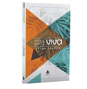 Nova Bíblia Viva - Folhagem - Letra Grande