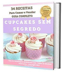E-book 34 Receitas de Cupcakes - Guia Completo Passo a Passo