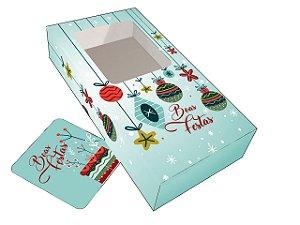 Capa para Barras de Chocolate - Enfeites de Natal